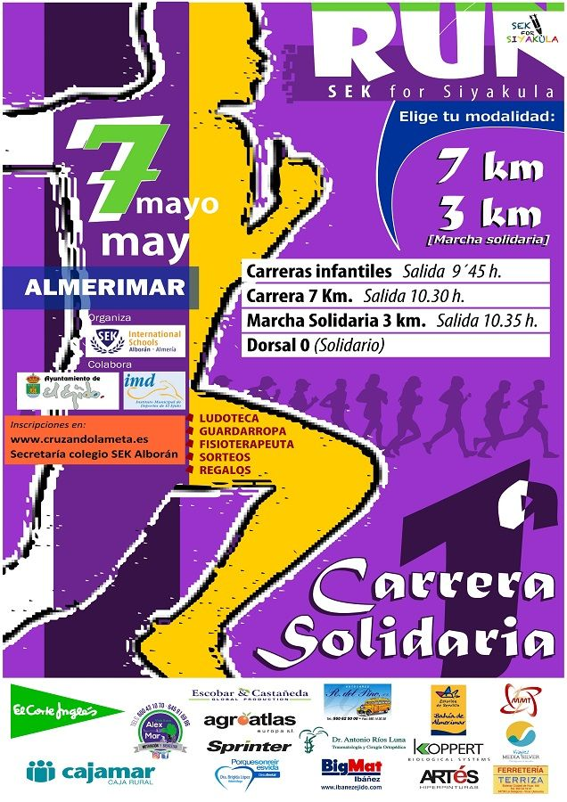 I Carrera Solidaria Run SEK for SiyaKula